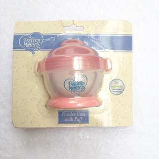 Precious Moments Powder case with puff