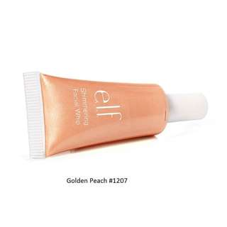 e.l.f. Essential Shimmering Facial Whip - GOLDEDN PEACH