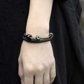 珠寶首飾系列 (黑檀木中國風手鍊) (田亮推廣系列) (包Buyup自取站取貨) (China style necklace made of African Blackwood)