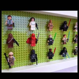 Display Board with Minifigs