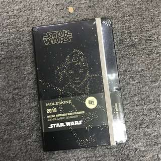 Moleskine 2018全年 Star wars Weekly Pocket Notebook 星球大戰口袋型周記本