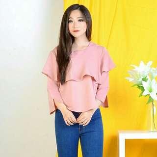 Fadilla blouse mustard