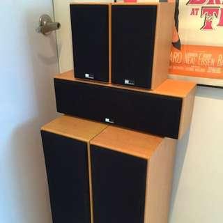 Pure Acoustics Speakers