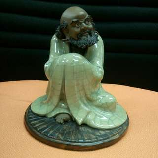 中國陶瓷藝術大師劉雪玲:達摩