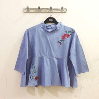 Cortonink Embroidery Top