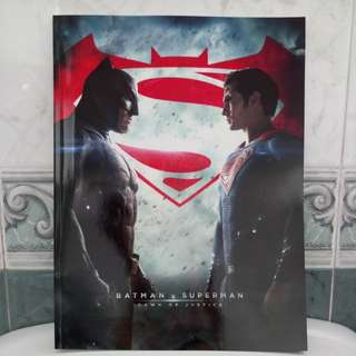 Toho Cinemas Japan Batman Vs Superman Book