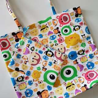 Tsum Tsum Tote Bag and Zipper Pouch set