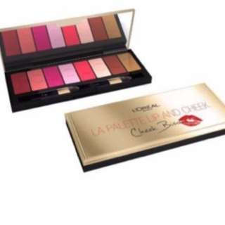 LOREAL LIP AND CHEEK PALETTE