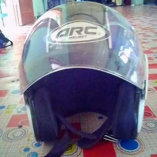 Helmet arc ritz tiara ingin dilepaskan..helmet masih baru..bukak harga rm220..cod sahaja..cod area sg besar dan sabak bernam..berminat pm terus di wasap..0122954855