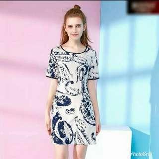Full 3D Print Dress