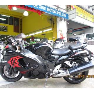 Suzuki Hayabusa 2010 $9.2k   D/P $1500 or $500 With Out Insurance  (Terms and conditions apply. Pls call 67468582 De Xing Motor Pte Ltd Blk 3006 Ubi Road 1 #01-356 S 408700.
