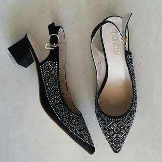 Sepatu peter keiza black
