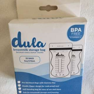 Dula Breastmilk Storage Bags