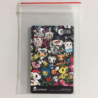 Limited Edition brand new Tokidoki Black Design ezlink Card For $7.