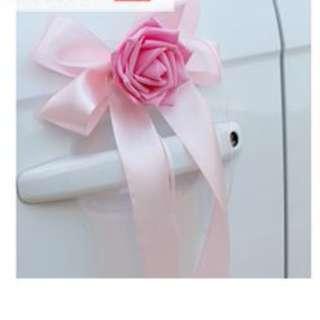 結婚物資 幸福傳承 花車 車頭 車門 裝飾