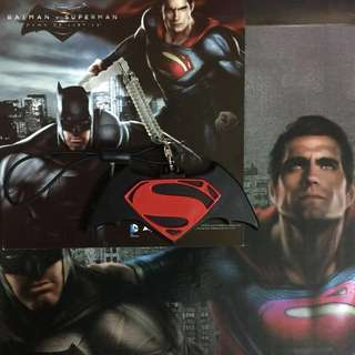 Limited Edition brand new DC Comics Batman vs Superman ezlink charm for $63.