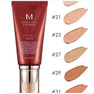 MISSHA BB CREAM SHADE 21
