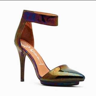 Jeffery Campbell Oil Slick Pumps