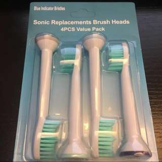 飛利蒲 電動牙刷 代用刷頭 Philips sonicare toothbrush head replacements