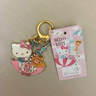 日本🇯🇵Skytree限定 Hello Kitty 匙扣