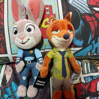Zootopia push toys brand new by tomy