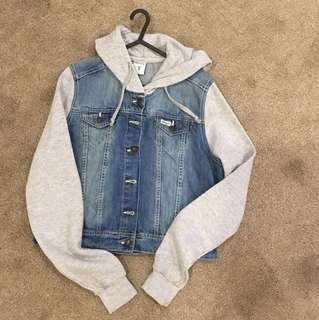 Ghanda Denim Jacket with Hood