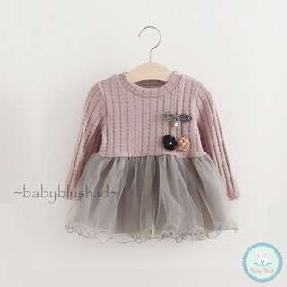 Cherly Dress Dark Pink/dress bayi/dress anak