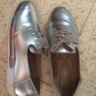 Sneakers fladeo silver