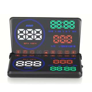 Car Heads Up Display (HUD) with flip up screen 5.5 inch display