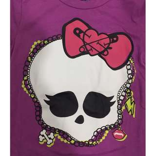 Monster High Skeleton Graphic Tee