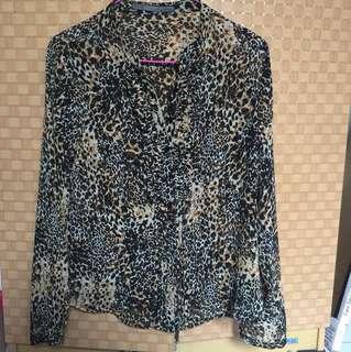 Zara Leopard T-shirt