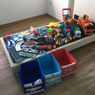 Toddler's toys to let go at a quick deal