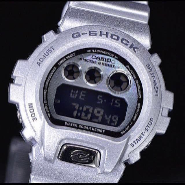 d09a48ee723a 100% Authentic New Casio G-Shock DW-6930BS-8 Silver 30th Anniversary ...