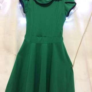 Dress bodycon hijau