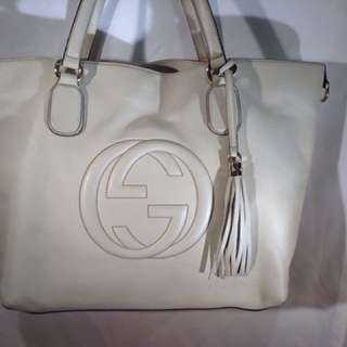 Gucci large Soho leather tote