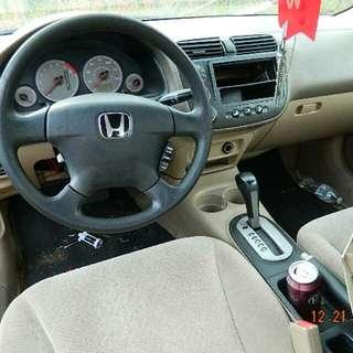 2001 Honda Civic LX 2DR