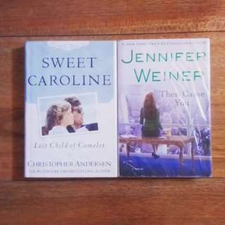 2 books (Sweet Caroline, Then Came You)
