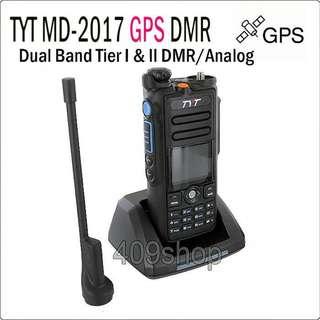 特易通 TYT MD-2017 GPS定位 數位對講機 md-2017防水數位機 雙段全球定位系統GPS