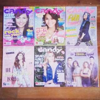 Candy Magazine Previous Issues (Jun, Aug 2007, Apr-Jul 2015)