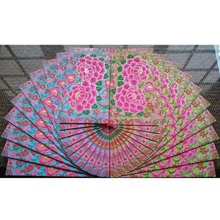 10 pcs UBS 2018 Gorgeous Floral Red Packet / Ang Bao Pau Pow Pau / Sampul Duit