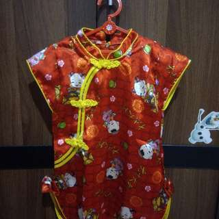 Dress shanghai cheongsam anak