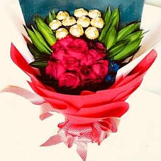 Pre-Order: Ferrero Rose Bouquet