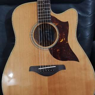 YAMAHA A1M ACOUSTIC GUITAR WITH UPGRADES