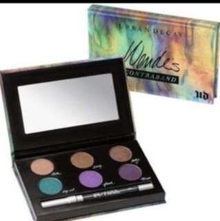 (70% off!!) BNIB Urban Decay wande's contraband eyeshadow palette