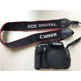 Canon 600D - DSLR + Lens