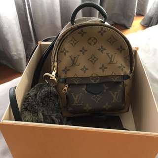 Louis Vuitton Mini Palmspring Reverse Monogram