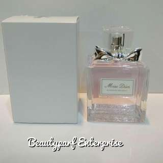 Christian Dior Miss Dior Blooming Bouquet 100ml tester pack EDT Spray