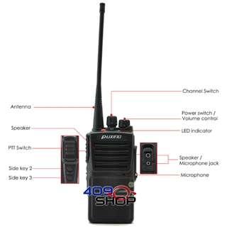 PUXING PX-680D UHF 400〜470MHZ數字無線收發器