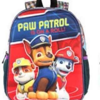 3D Paw Patrol children's schoolbags kindergarten Backpack