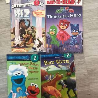 Step into Reading 3-6years old